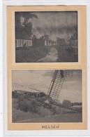 Molen Melsen. Knipsel Gekleefd Op Dun Kartonnen Board (postkaartformaat). Geen Herkomstvermelding. - Vieux Papiers