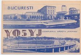 Postcard Stadium Bucaresti Romania Stadion Stadio Estadio Stade Sports Football Soccer - Fussball