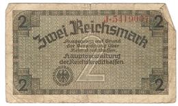 Germany 2 Mark 1939-1944 (1) Rosenberg №552 /017B/ - 1933-1945: Drittes Reich