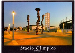 Postcard Stadium Torino Italia Stadion Stadio Estadio Stade Sports Football Soccer - Fútbol