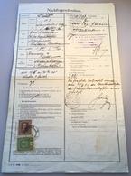 1917 Postformular NACHFRAGESCHREIBEN > Feldpost Kolacin Montenegro & Sarajevo Bosnien (LANGENEGG BRIEF ÖSTERREICH BOSNIA - Briefe U. Dokumente