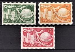 MONACO 1949 SERIE N° 332 / 332A / 333 - 3 TP NEUFS** /2 - Neufs