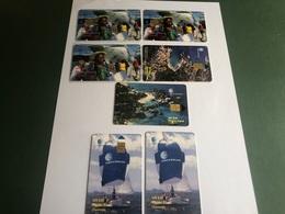 Virgin Islands - 7 Different Chip Cards - Virgin Islands