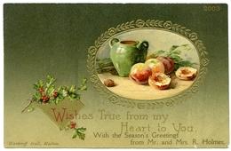 WISHES TRUE / PERSONALISED STATIONERY - WARDROFF HALL, MALTON, YORKSHIRE - HOLMES - Christmas