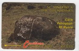 St Vincent GPT Phonecard (Fine Used) Code 3CSVB - St. Vincent & The Grenadines