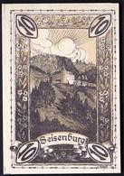 Austria Pettenbach In Ober-Österreich 1920 / 10 Heller / Gutschein / Seisenburg / Notgeld, Banknote - Austria