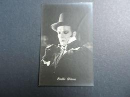 19944) EMILIO GHIONE ATTORE NON VIAGGIATA CINEMA MUTO - Artisti