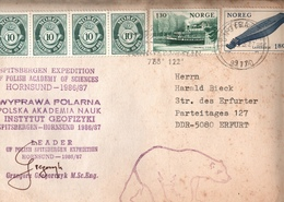 ! 1987 Norwegen, Norway, Norvege, Norge, Erfurt, Spitzbergen, Polska, Polen, Polandge Polish Spitsbergen Expedition, - Norway