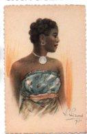 (Madagascar) 068, Illustrateur L Liezard, Yvon 6, Femme Malgache, Expo Coloniale De 1931 - Madagaskar