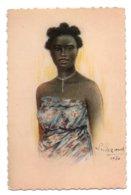 (Madagascar) 069, Illustrateur L Liezard, Yvon 9, Jeune Fille Bara, Expo Coloniale De 1931 - Madagaskar