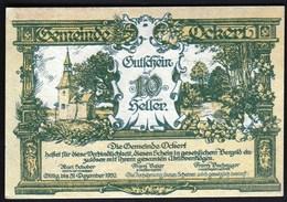 Austria Ockert 1920 / 10 Heller / Gutschein / Kirche / Notgeld, Banknote - Oesterreich