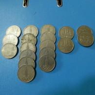 Lot 18 Coins 1 Rouble Russia - Kilowaar - Munten