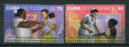 Cuba 2017 / Children Nurse MNH Enfermeras Infantiles Krankenschwestern / Cu5132  40-60 - Medicina