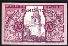 Austria Perchtoldsdorf 1920 / 10 Heller / Gutschein / Notgeld, Banknote - Oesterreich