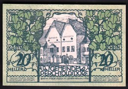 Austria Perchtoldsdorf 1920 / 20 Heller / Gutschein / Rathaus Und Sparkassa / Notgeld, Banknote - Oesterreich