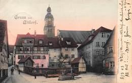 GRUSS Aus ALTDORF GERMANY~STREET VIEW~HERMANN MARTIN 1903 PHOTO POSTCARD 41295 - Deutschland