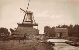 Windmolen Molen Windmill  Moulin à Vent  Westzaam Afgebroken Molen  Fotokaart     L 516 - Windmolens