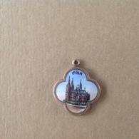 Med. 8. Medaille En Laiton émaillée De Cologne. - Allemagne
