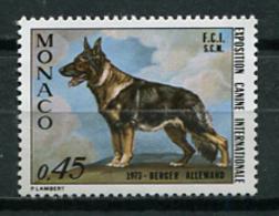 Monaco 1973 / Dog MNH Perro Hunde Chien / Cu7228  40-60 - Dogs