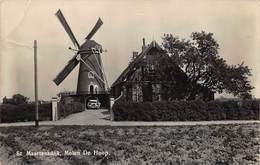 Windmolen Molen Windmill  Moulin à Vent  St Maartensdijk  Molen De Hoop   Scheurtje Boven Aan 1 Cm Sint      L 524 - Mulini A Vento