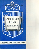 SALZBURG Guide Touristique Avec Plan - Oesterreich
