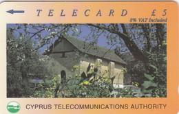 Cyprus, 23CYPB, £5, Churches, Ayia Paraskevi, 2 Scans - Cyprus