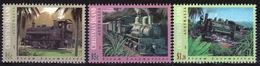 Christmas Island 1994 Set Of Stamps To Celebrate Steam Locomotives. - Christmas Island
