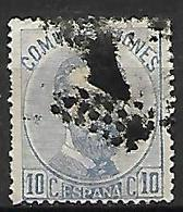 ESPAGNE    -    1872.    Y&T N° 120 Oblitéré  . - 1872-73 Reino: Amadeo I