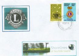 ILE NORFOLK (Océan Pacifique), Lions International Convention,  Lettre île Norfolk - Ile Norfolk