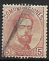 ESPAGNE    -    1872.    Y&T N° 117 Oblitéré  . - 1872-73 Reino: Amadeo I