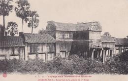 Voyage Aux Monuments Khmers Par A.T. N° 27 Angkor-Wat - Porte Sud De La Galerie Du 1er Etage Cambodge Indochine Cambodia - Cambodge