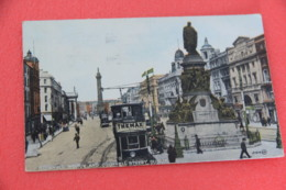 Ireland Dublin O'Connell Street 1927 + Nice Tramway - Other