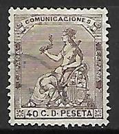 ESPAGNE    -    1873.    Y&T N° 135 Oblitéré  . - Oblitérés