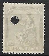 ESPAGNE    -    1873.    Y&T N° 137 Oblitéré  . - Oblitérés