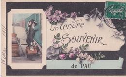 64-PAU- UN TENDRE SOUVENIR - Pau