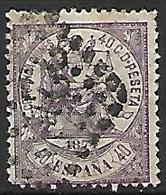 ESPAGNE    -    1874.    Y&T N° 146 Oblitéré  . - 1873-74 Regentschaft