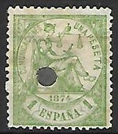 ESPAGNE    -    1874.    Y&T N° 148 Oblitéré  . - 1873-74 Regentschaft