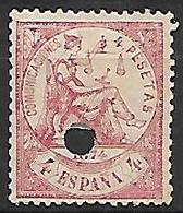 ESPAGNE    -    1874.    Y&T N° 149 Oblitéré  . - 1873-74 Regentschaft