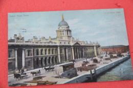 Ireland Dublin Custom House 1907 Ship To Polo USA Anc Nice Cancel - Other