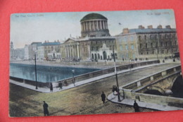 Ireland Dublin The Four Courts 1908 Ship To Mount Blue USA - Other
