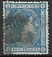ESPAGNE    -    1875.    Y&T N° 155 Oblitéré - 1875-1882 Königreich: Alphonse XII.