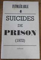 Suicides De Prison (1972) - Histoire
