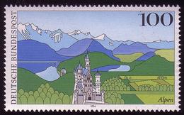 1742 Alpen Schloß Neuschwanstein ** - BRD