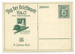 DR Ganzsache P288 Tag Der Briefmarke Ungelaufen - Alemania