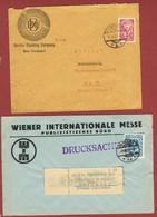 Infla Partie 20 Briefe Karten , Ganzsachen Usw - 1918-1945 1st Republic