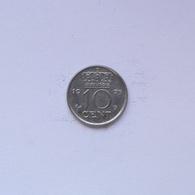10 Cent Münze Aus Den Niederlanden Von 1975 (vorzüglich) - 1948-1980: Juliana