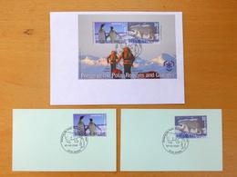 3 FDC's Preserve Polar Regions And Glaciers (2009) - FDC