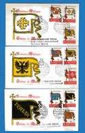 (Riz1) SMOM  - 1967 - FDC. RODIA - ANTICHE BANDIERE. - Sovrano Militare Ordine Di Malta