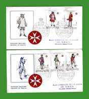(Riz1) SMOM  - 1969 - FDC. ANTICHE UNIFORMI. 1^ Serie - Sovrano Militare Ordine Di Malta