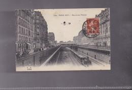75 PARIS ,PARIS 17EME  Le Boulevard PEREIRE Et Le Train Avec Des Véhicules Sur Le Boulevard - Autres